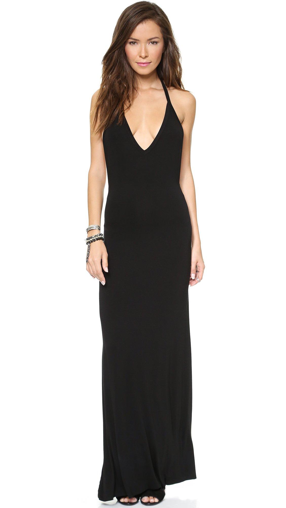 Lyst Young Fabulous Broke Archer Maxi Dress Black In Black