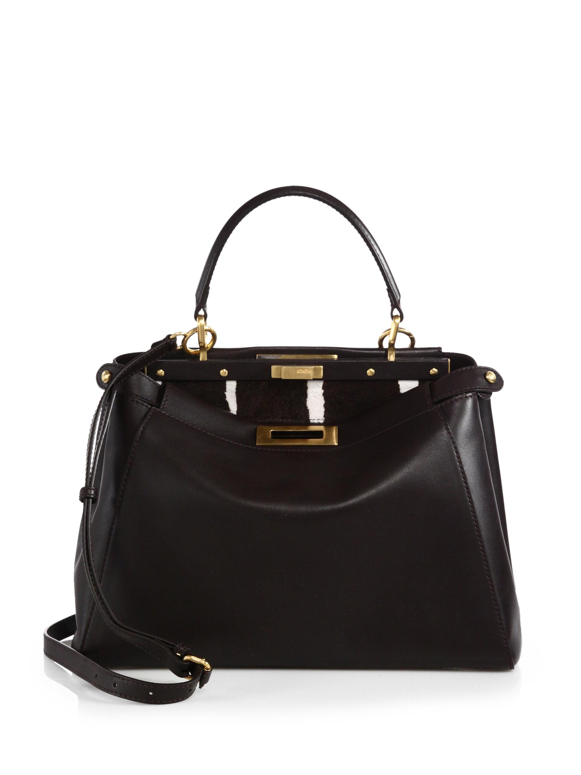 chloe black handbag - fendi peekaboo medium leather satchel, replica fendi bags