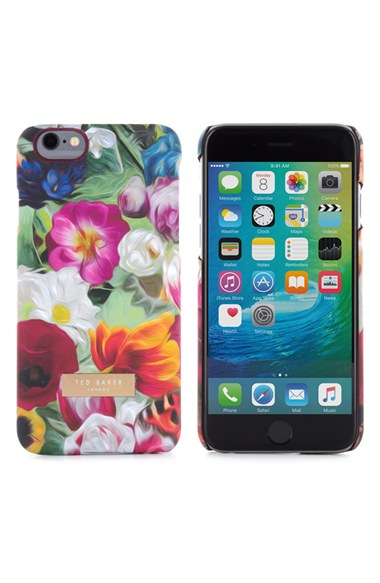 Ted baker Iphone Floral Swirl 6/6s Case