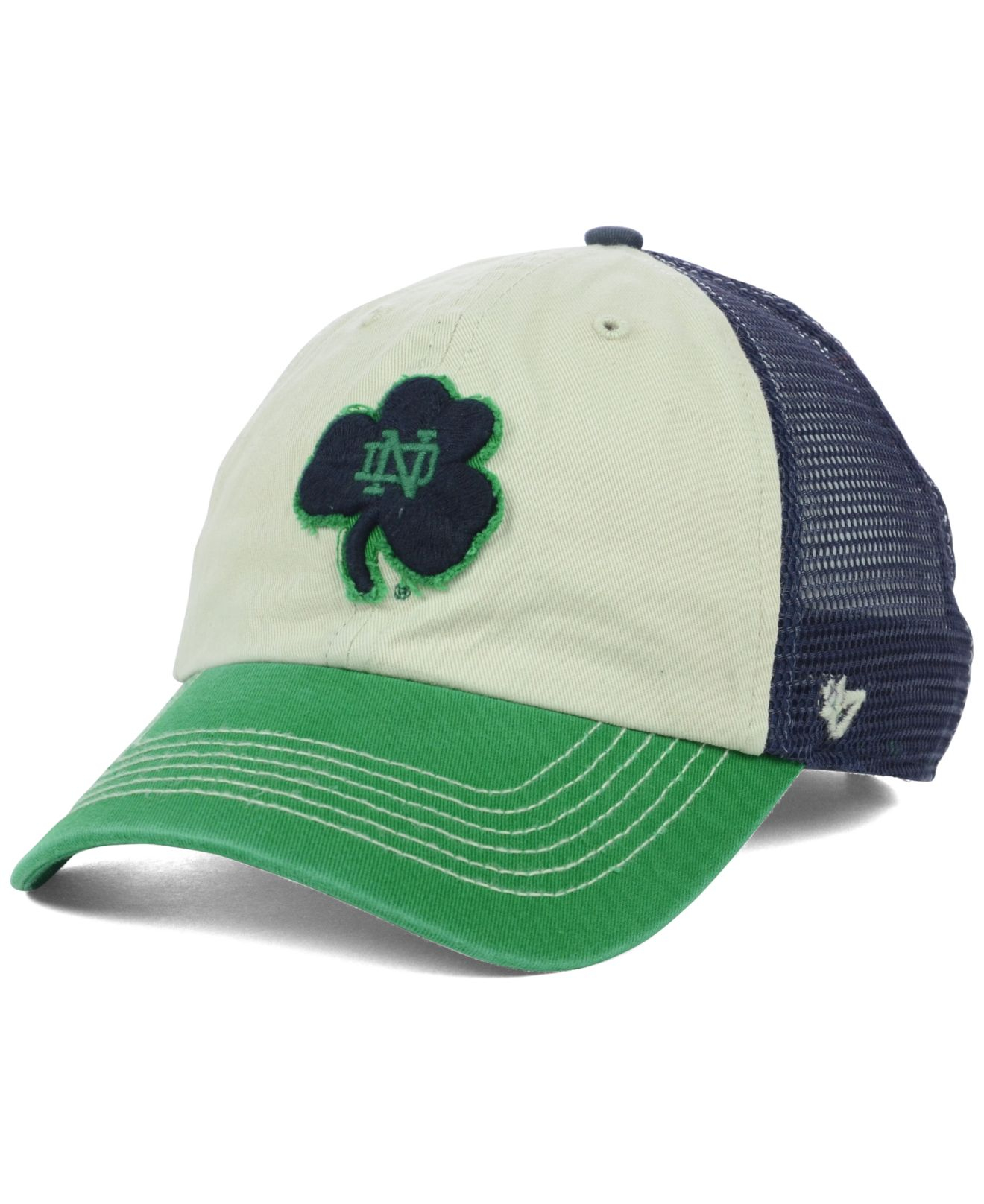 420189b2997 ... norway lyst 47 brand notre dame fighting irish schist trucker cap in  cfc34 e6b78