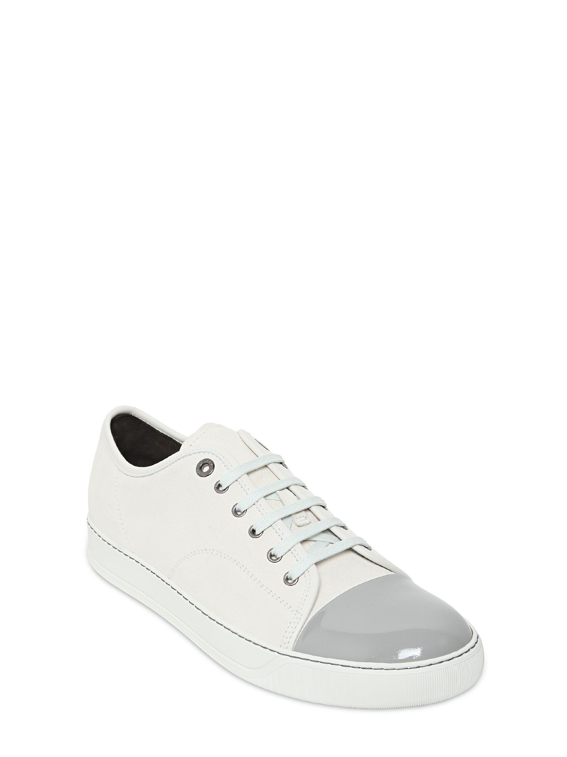 panelled sneakers - White Lanvin