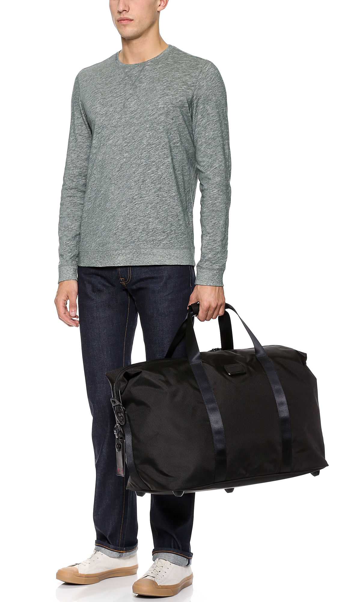Tumi Synthetic Alpha 2 Large Satchel In