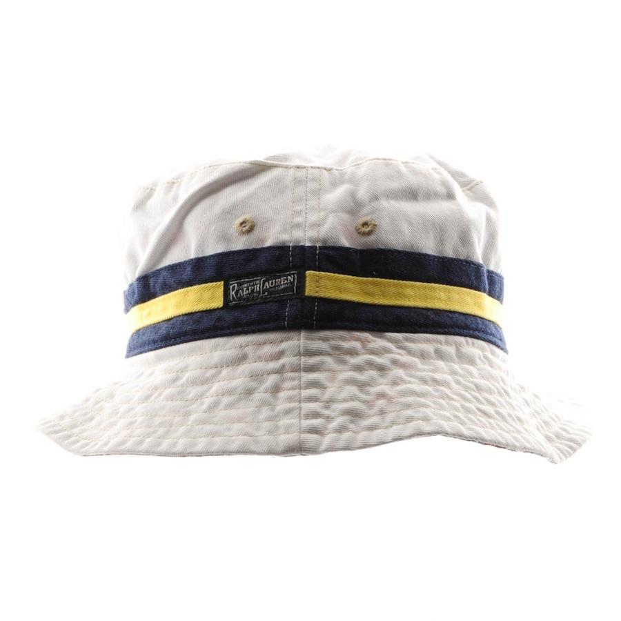 946ea5301f3 Lyst - Ralph Lauren Reversible Beachside Bucket Hat in White for Men