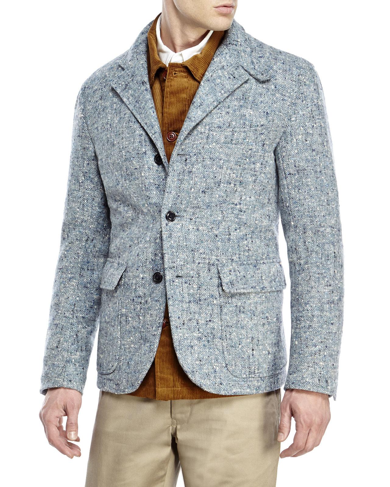 Woolrich Tweed Blazer