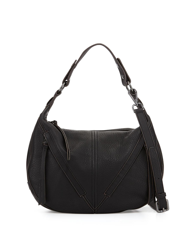 5d4fd2bf4ad Kooba Black Pamela Hobo Bag