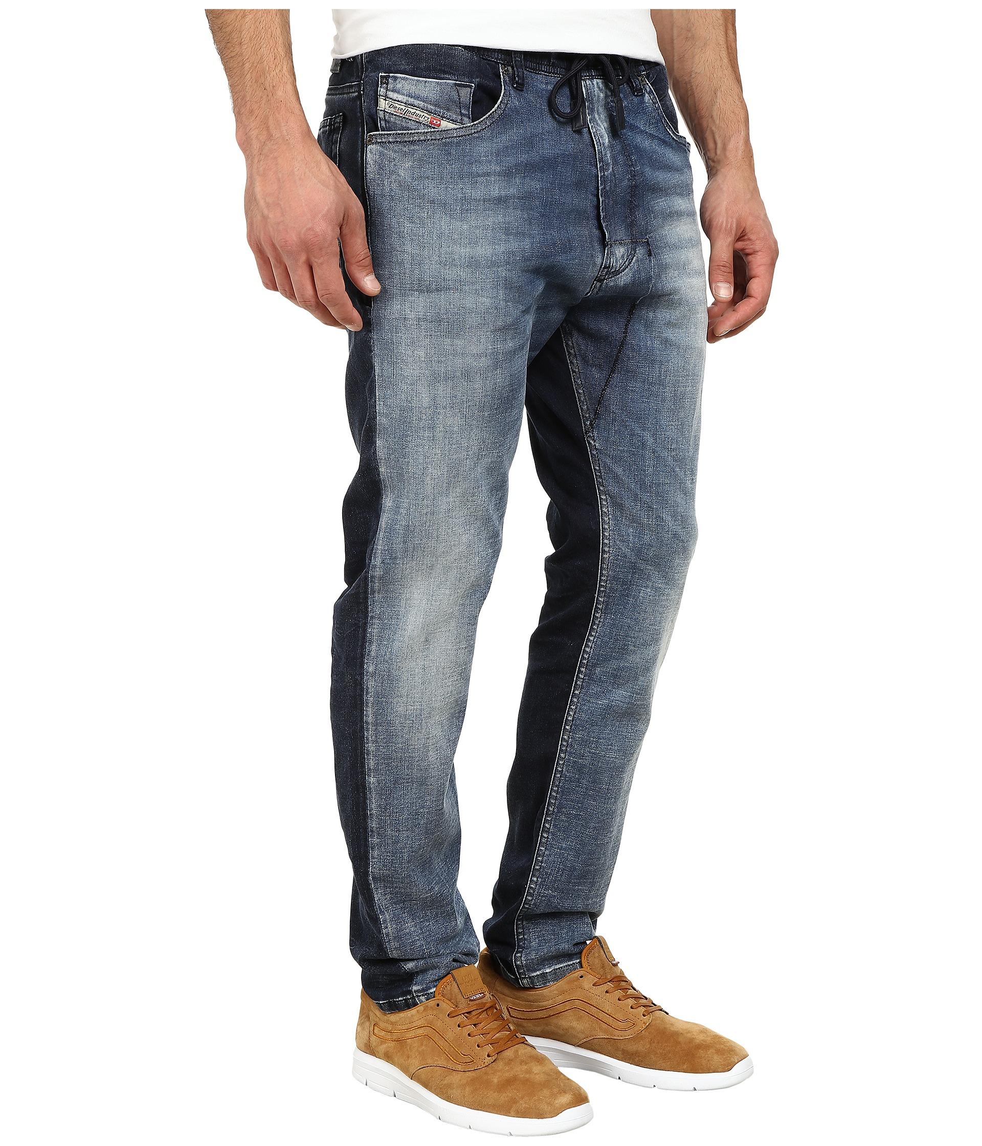 14db7d8f DIESEL Narrot-ne Sweat Jeans 667a in Blue for Men - Lyst