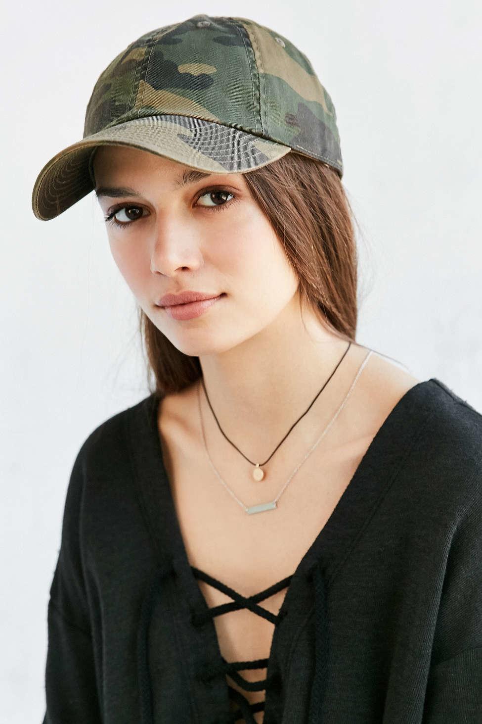 Lyst - American Needle Washed Canvas Baseball Hat in Green 29a2ad48b1a