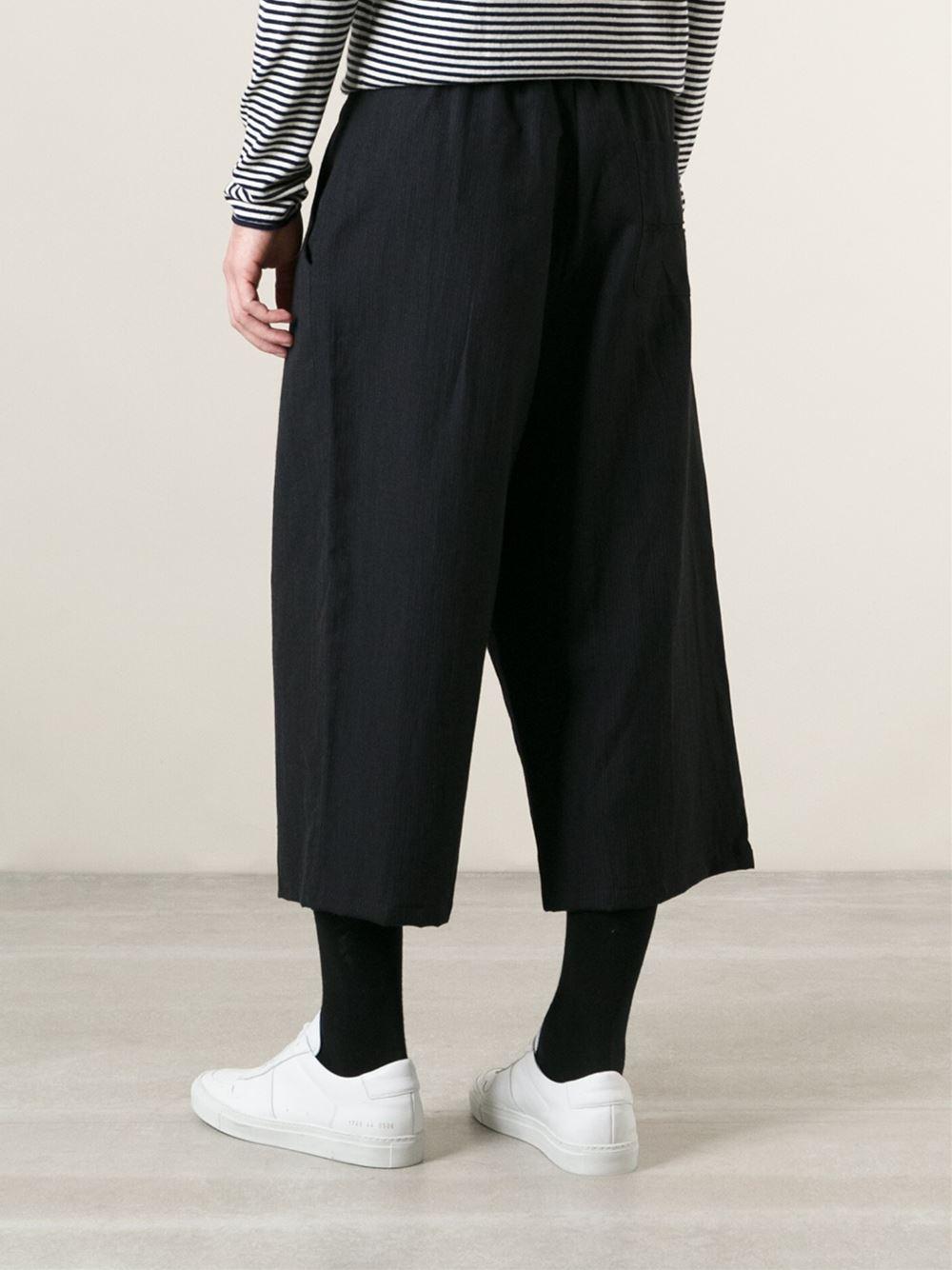 wide-leg trousers - Black Société Anonyme IF7Stzuo