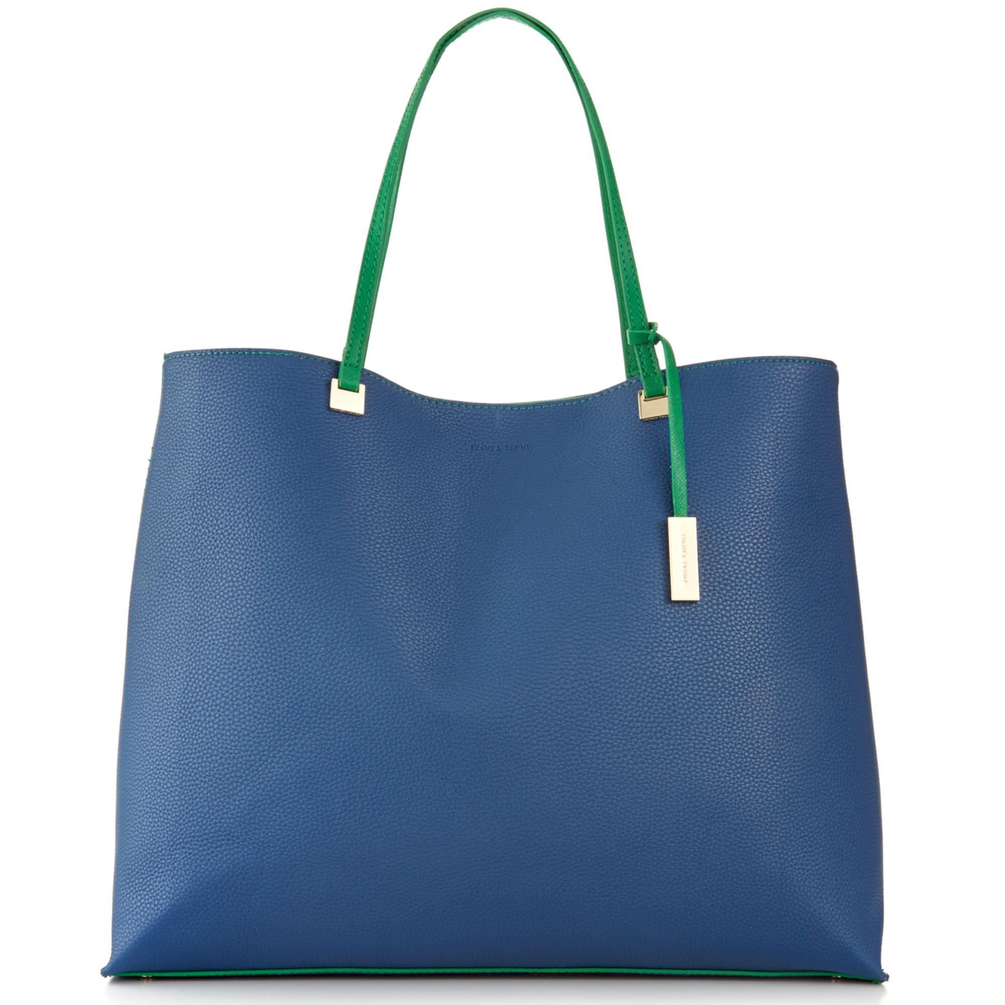 Ivanka Trump Julia Shopper in Blue (Navy Colorblock)