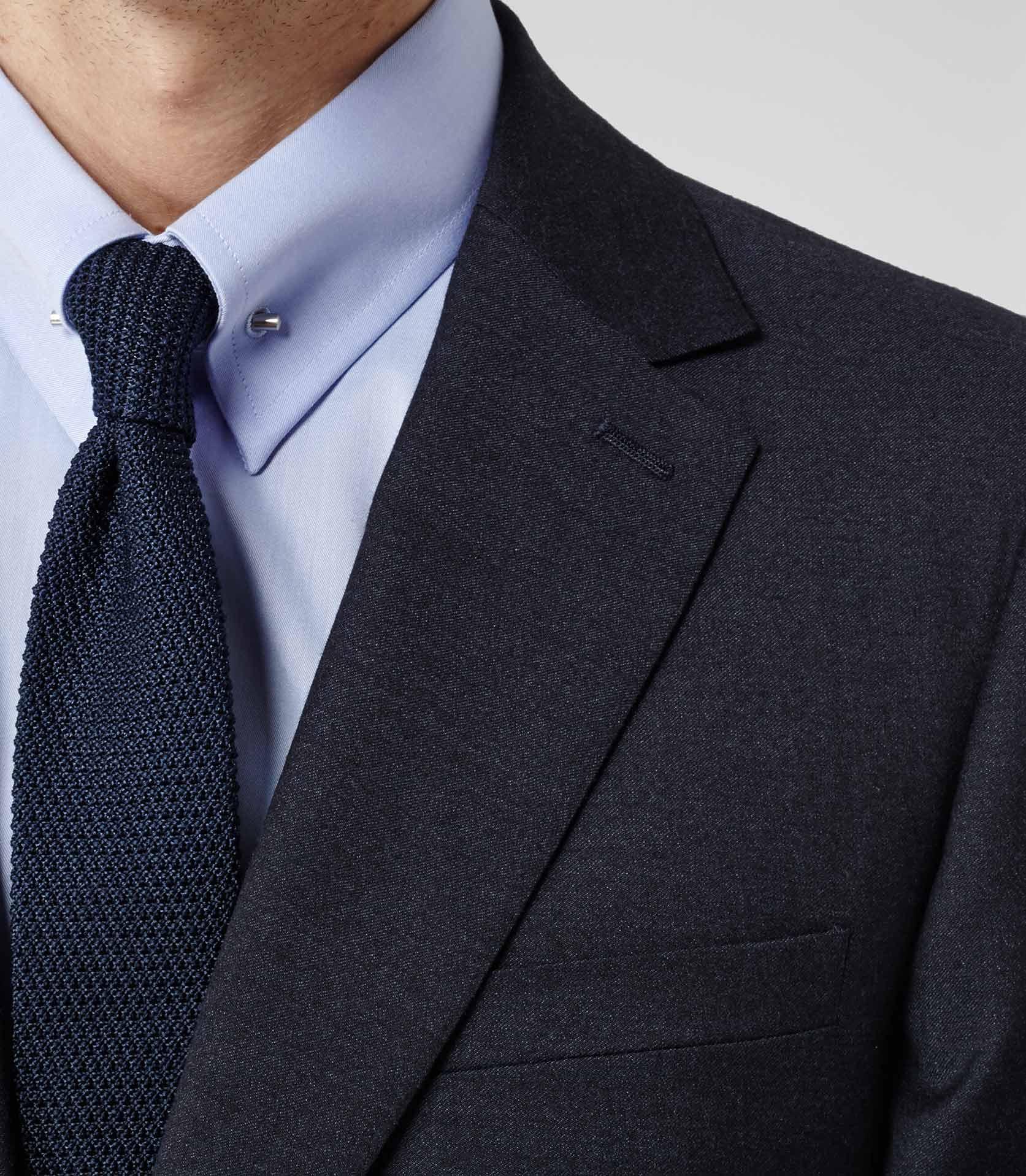 Reiss Belfort Collar Pin Shirt in Blue for Men (SKY BLUE) | Lyst
