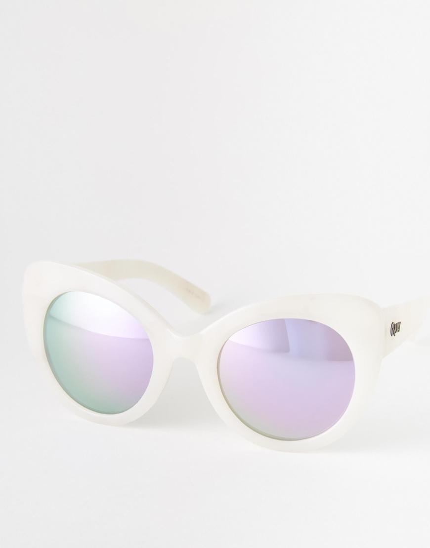 6443d662b2 Lyst - Quay Screaming Diva Sunglasses in Purple