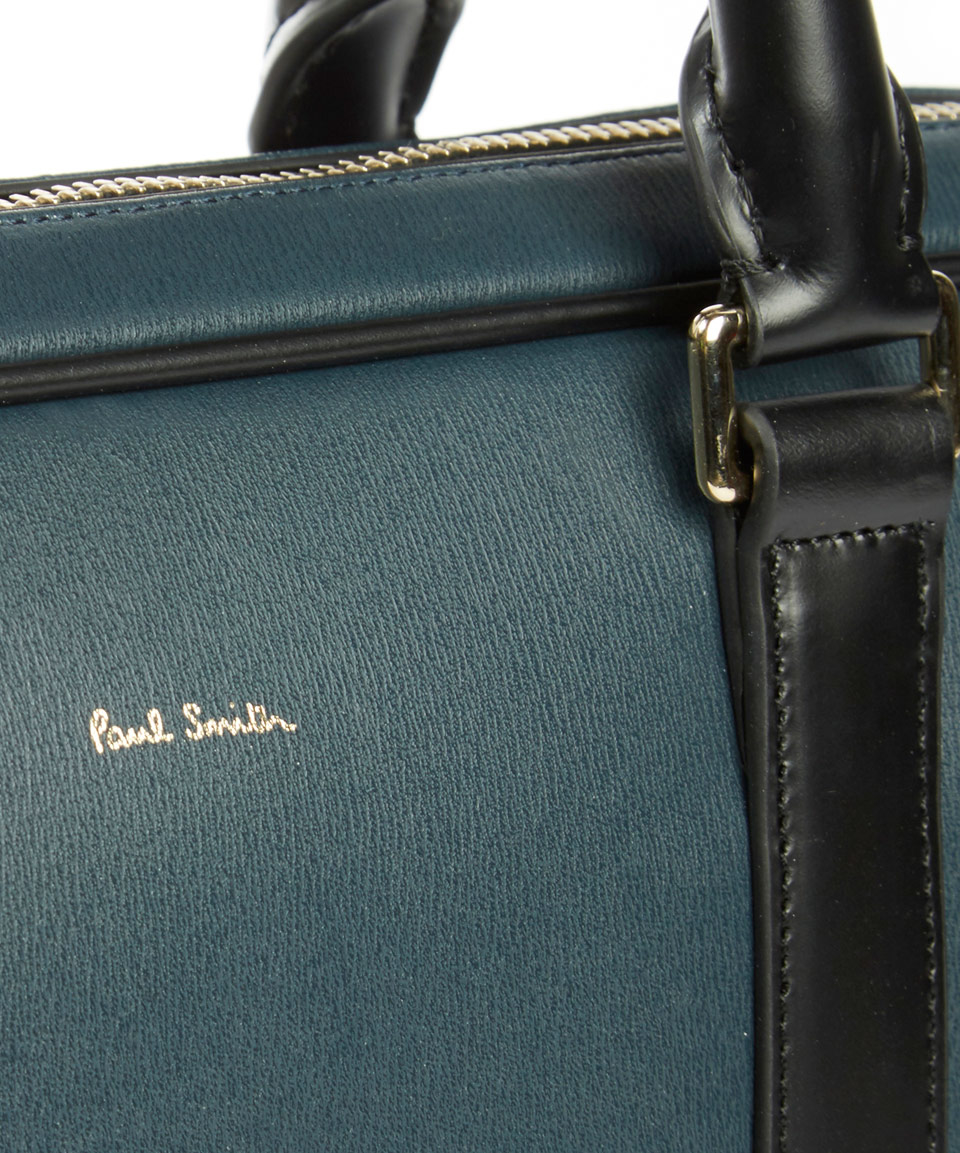 Popular Lyst - Paul Smith Blue Leather Briefcase in Blue for Men CX73
