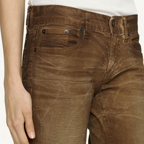 mens brown bootcut jeans - Jean Yu Beauty
