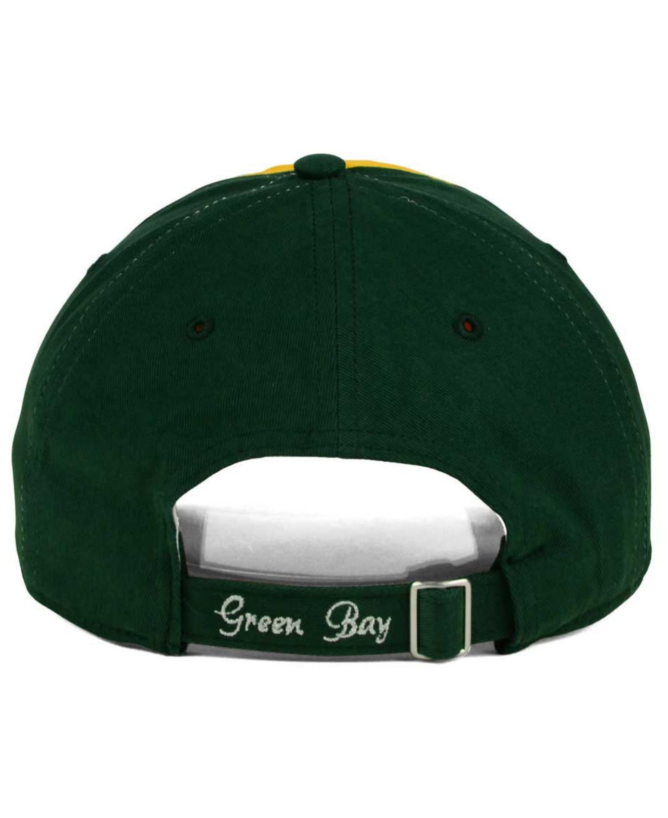Lyst - 47 Brand Women s Green Bay Packers Sparkle 2-tone Adjustable ... 5d30e297e