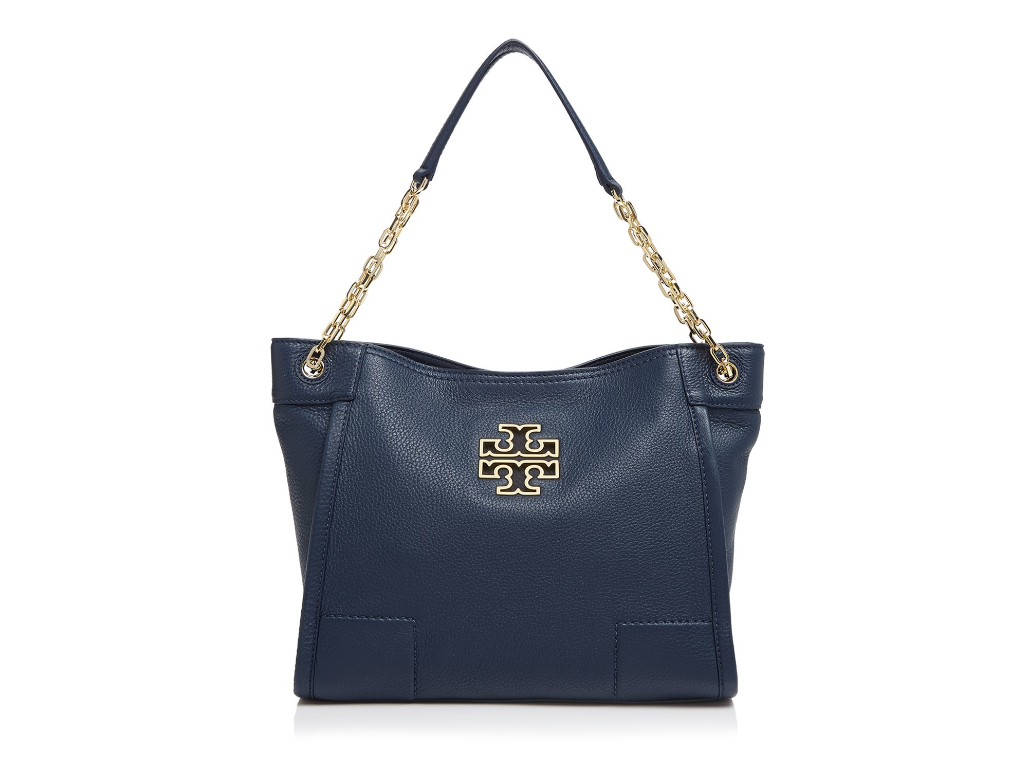 Lyst Tory Burch Tote Britten Small Slouchy In Blue