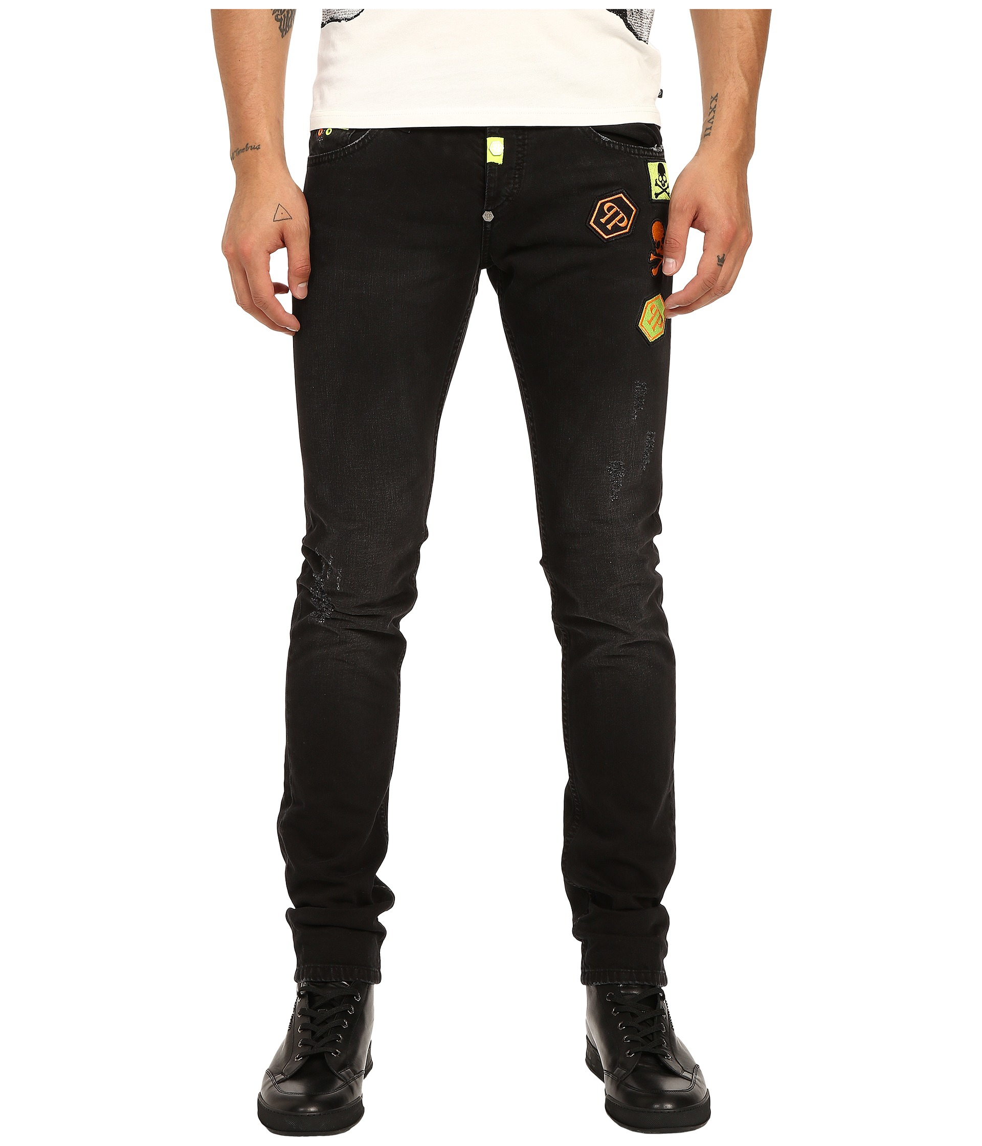 Philipp Plein skinny jeans Latest Collections Cheap Online MYIM7