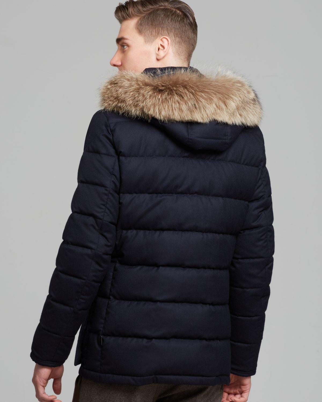 mens moncler parka coats