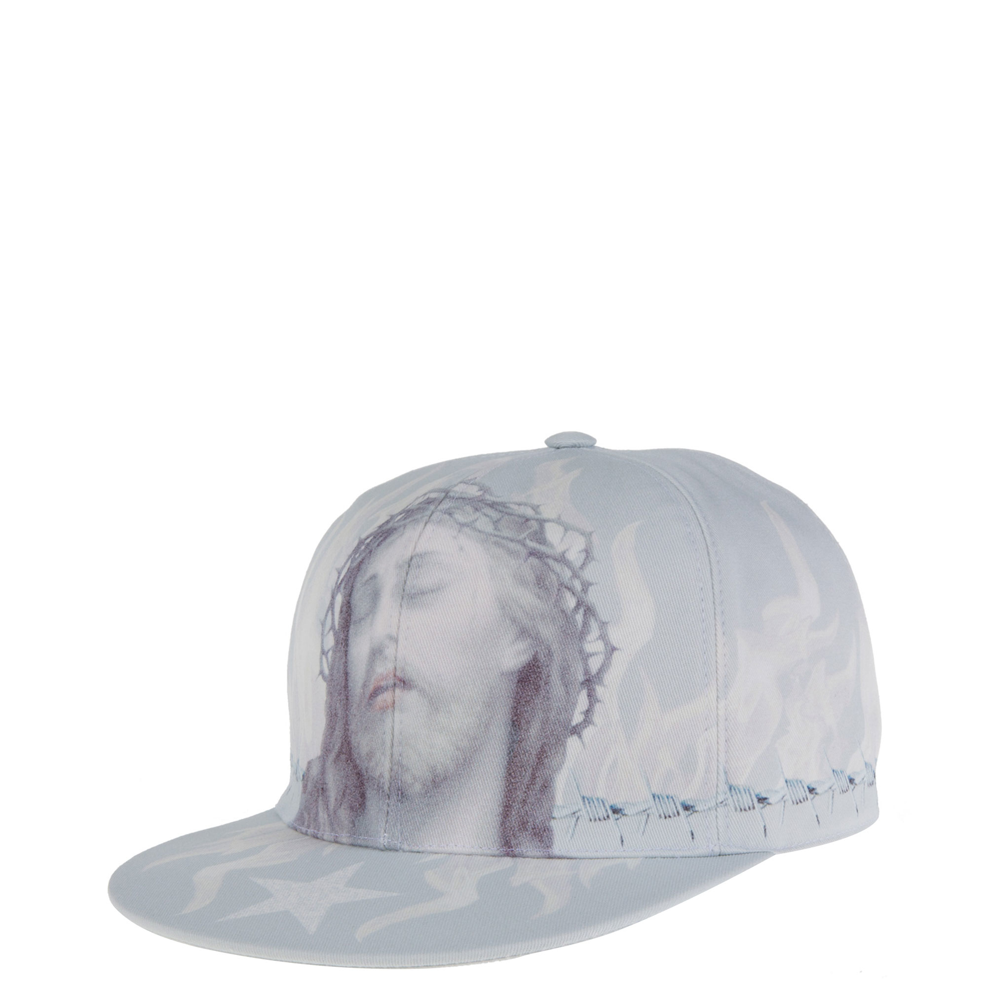 Givenchy Jesus Hat In Gray For Men Lyst