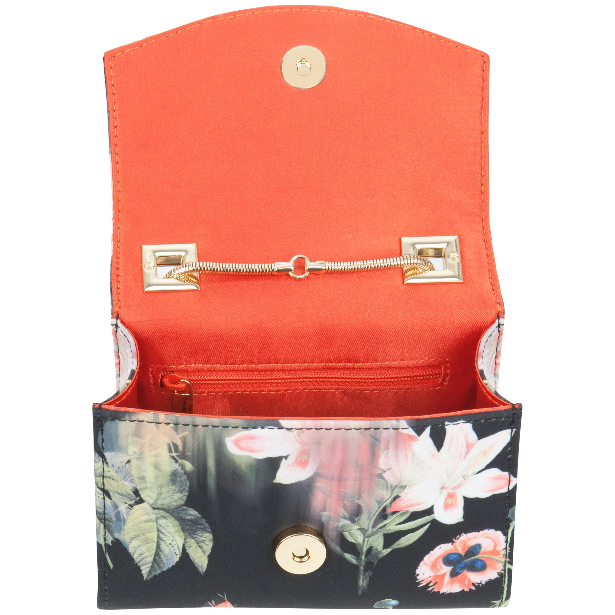 Ted baker Keira Opulent Bloom Clasp Clutch Bag in Blue | Lyst
