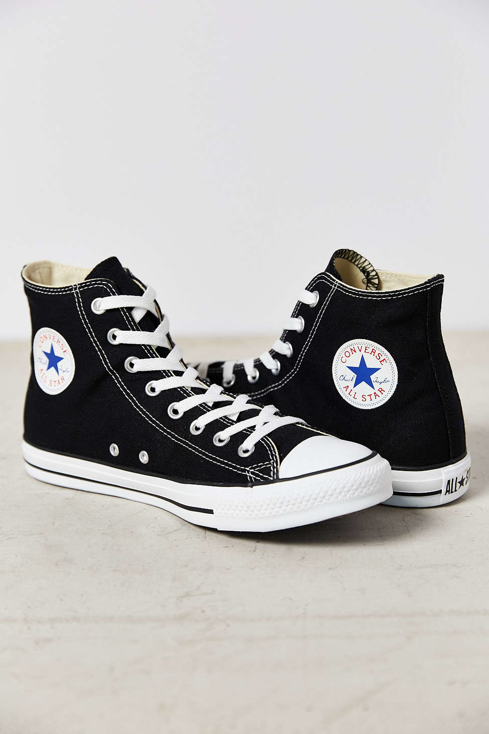 Converse Chuck Taylor All Star High Top Sneaker in Black ...