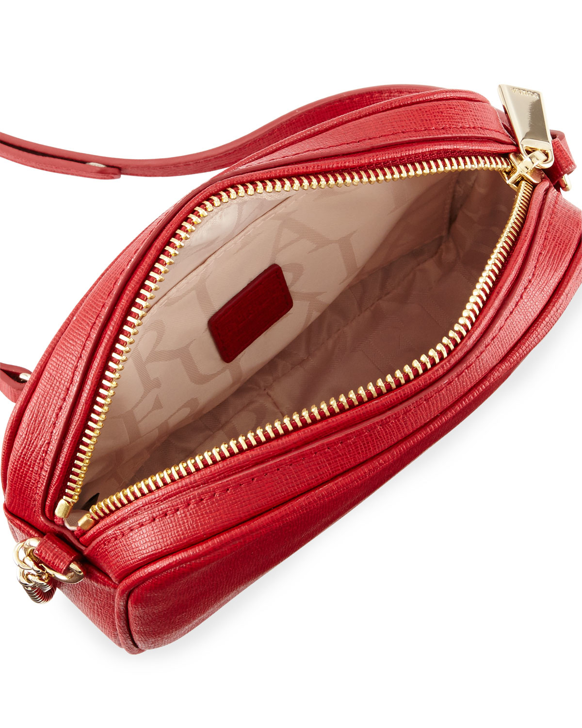Furla Miky Mini Leather Crossbody Bag in Red | Lyst
