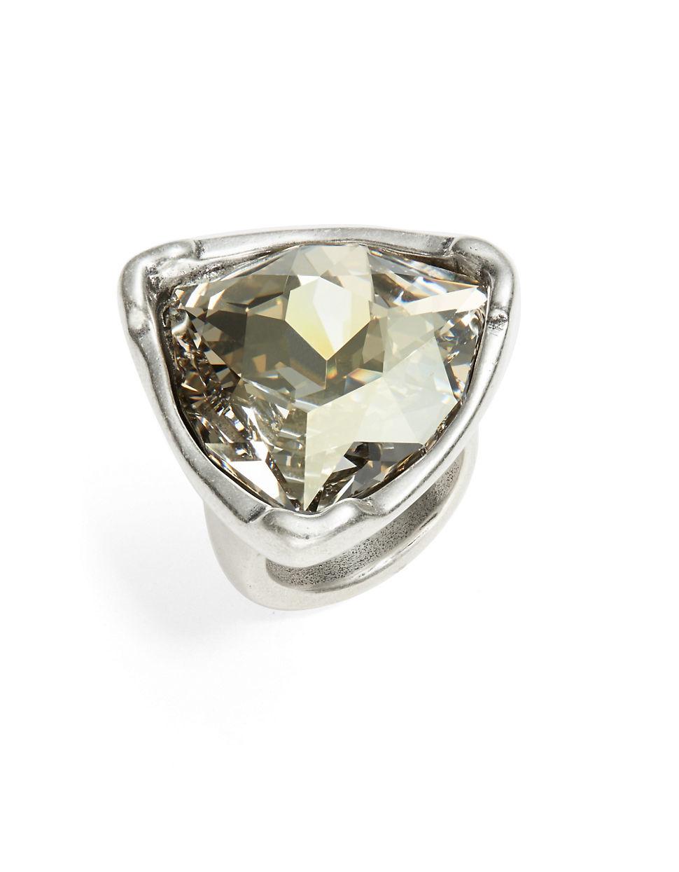 Uno De 50 Star Tremendous Ring In Metallic Lyst