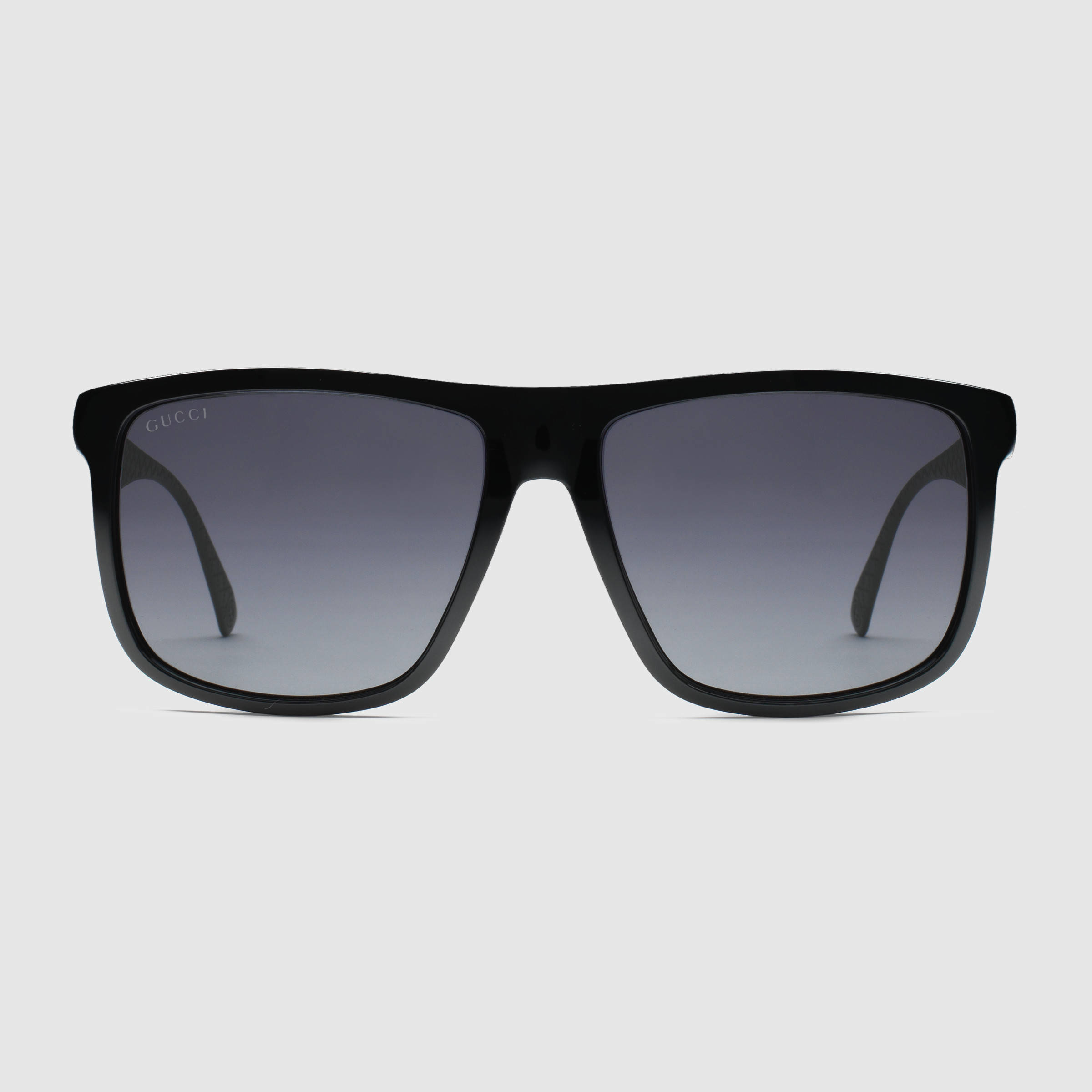b4801d1fc21c Gucci Square-frame Aluminum And Injected Sunglasses in Black for Men ...