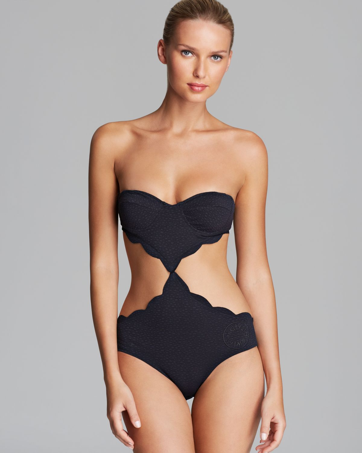 5a0acfe305db1 Summary -> Kandinsky Cut Out Underwire One Piece Swimsuit Swimsuits