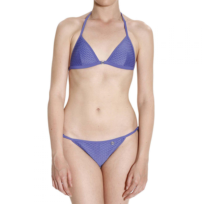 emporio armani swimwear in blue lyst. Black Bedroom Furniture Sets. Home Design Ideas