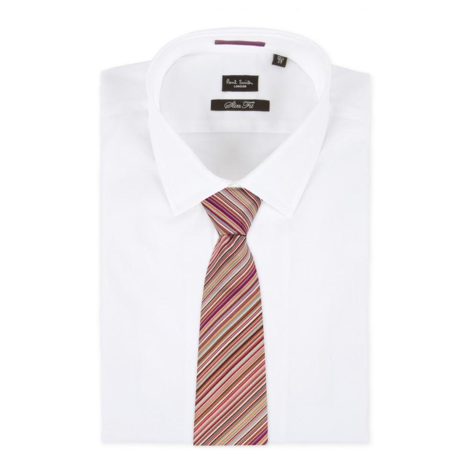 Lyst paul smith mens thin signature stripe classic silk cotton gallery ccuart Image collections