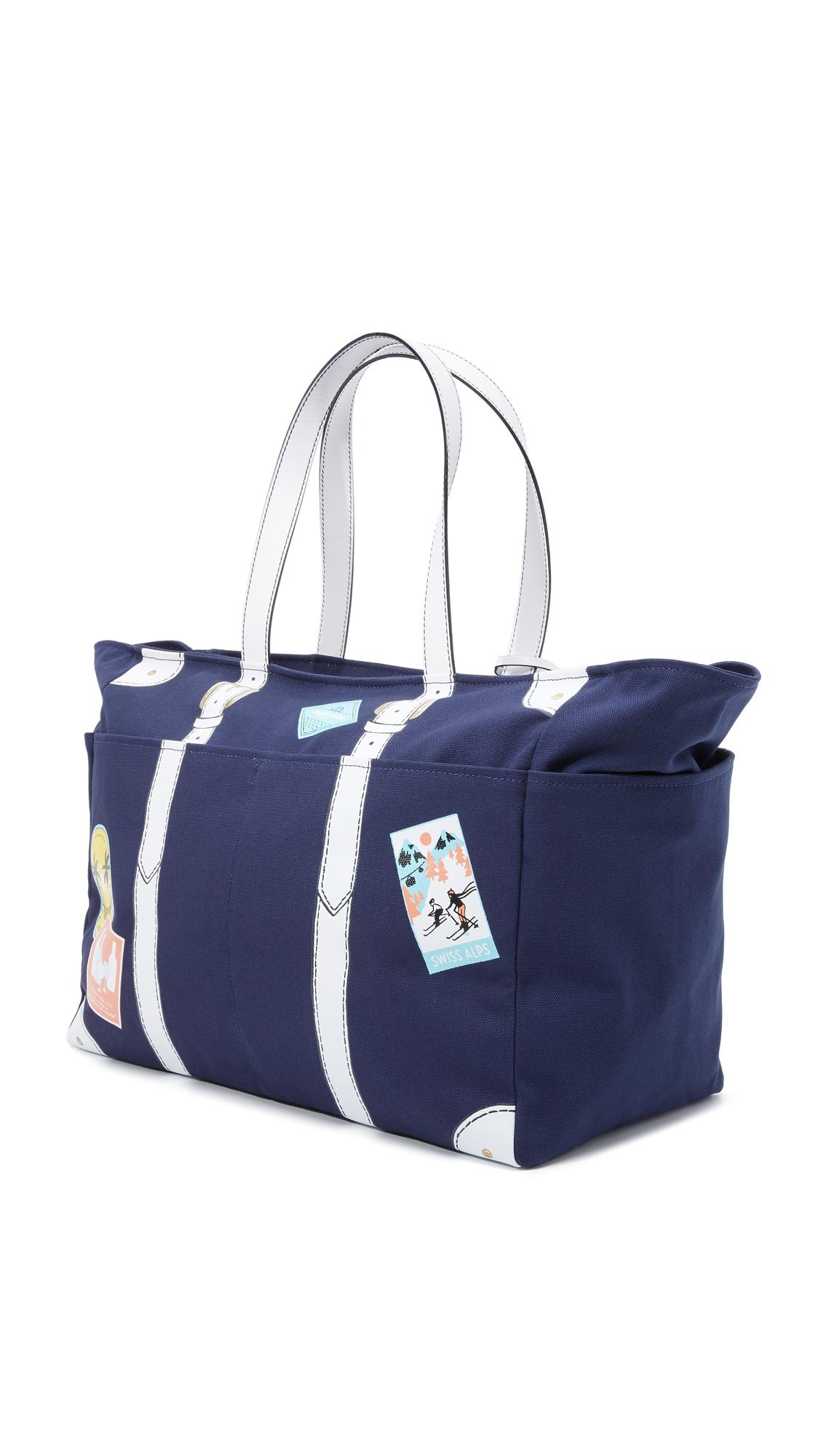 Kate spade new york Holiday Weekender Bag in Blue | Lyst