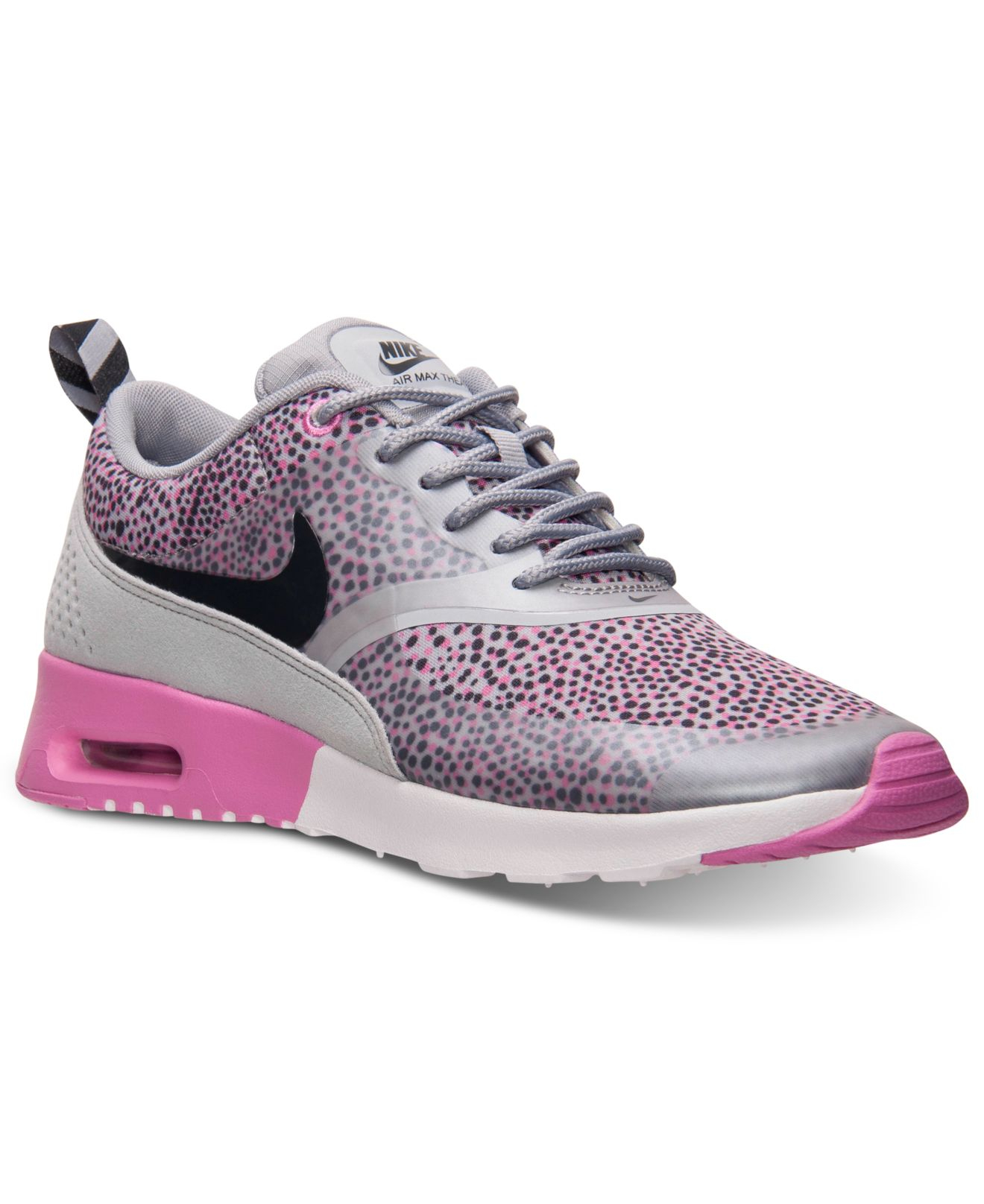 nike women 39 s air max thea print running sneakers from. Black Bedroom Furniture Sets. Home Design Ideas