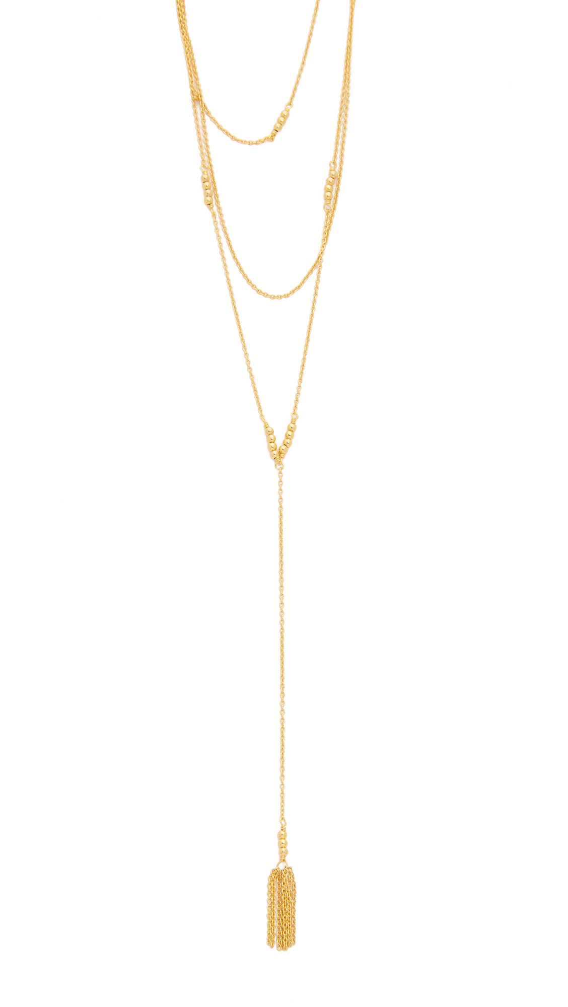 Gorjana Joplin Wrap Necklace in Metallic Gold zmi69