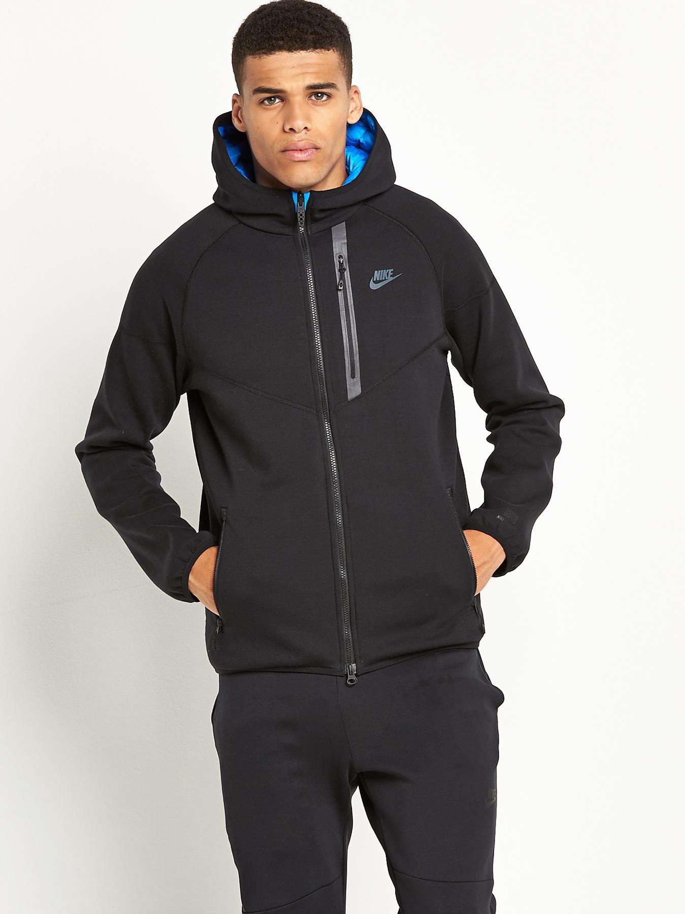 Nike Aeroloft Mens Reversible Windrunner Jacket In Blue