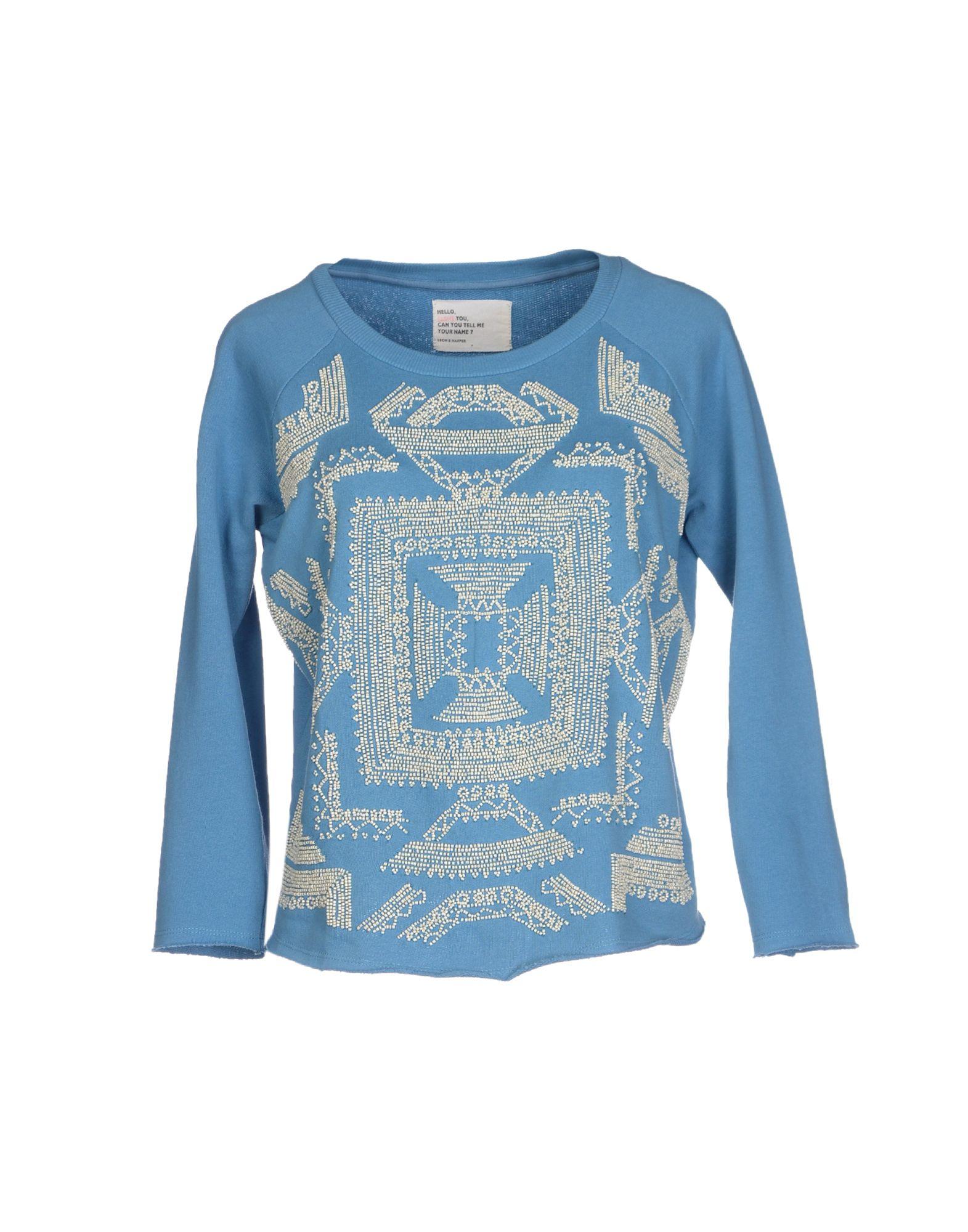 Leon Harper Sweatshirt In Blue Lyst