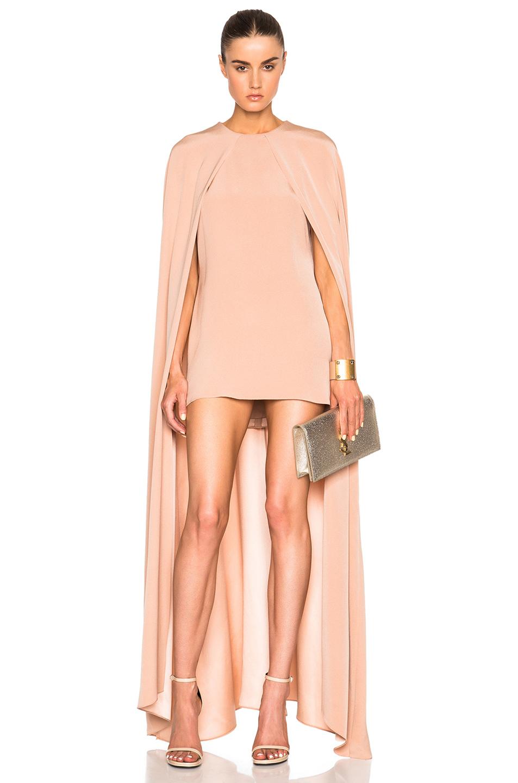 juan carlos obando fwrd exclusive cape dress in pink lyst