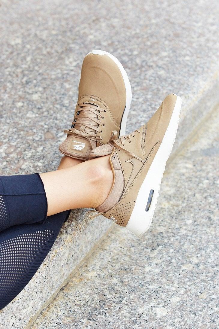 Nike Air Max Thea Premium Sneaker in Brown - Lyst