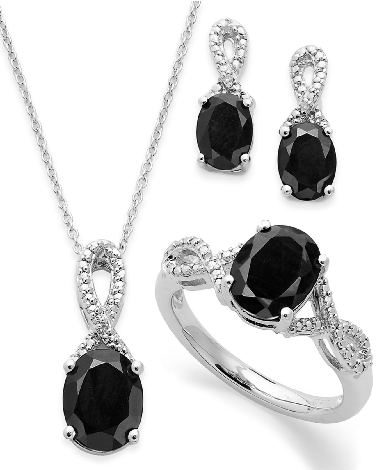 macy 39 s onyx 4 1 2 ct t w and diamond accent jewellery