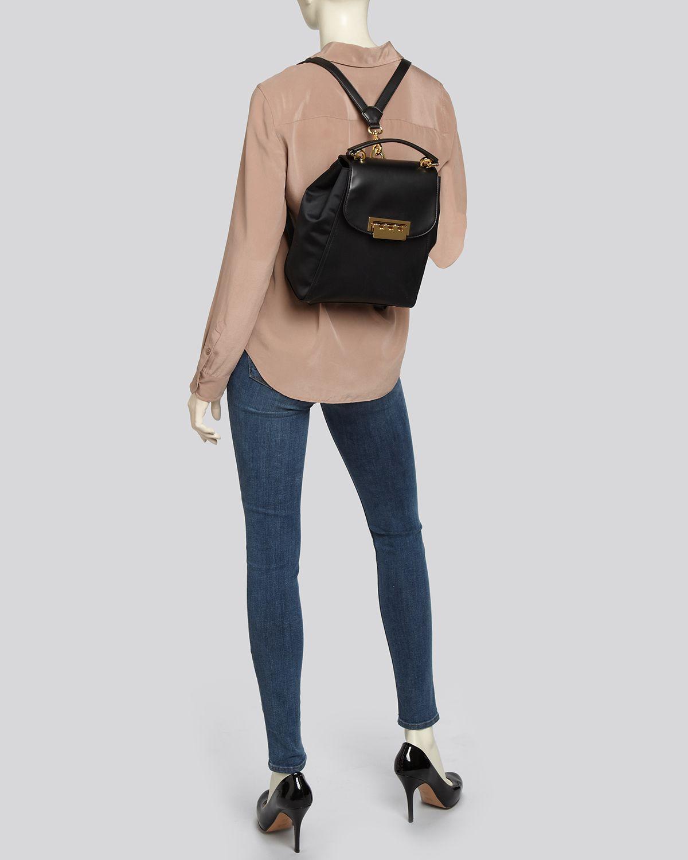 Eartha Iconic Convertible Backpack - Black Zac Posen oRgfG