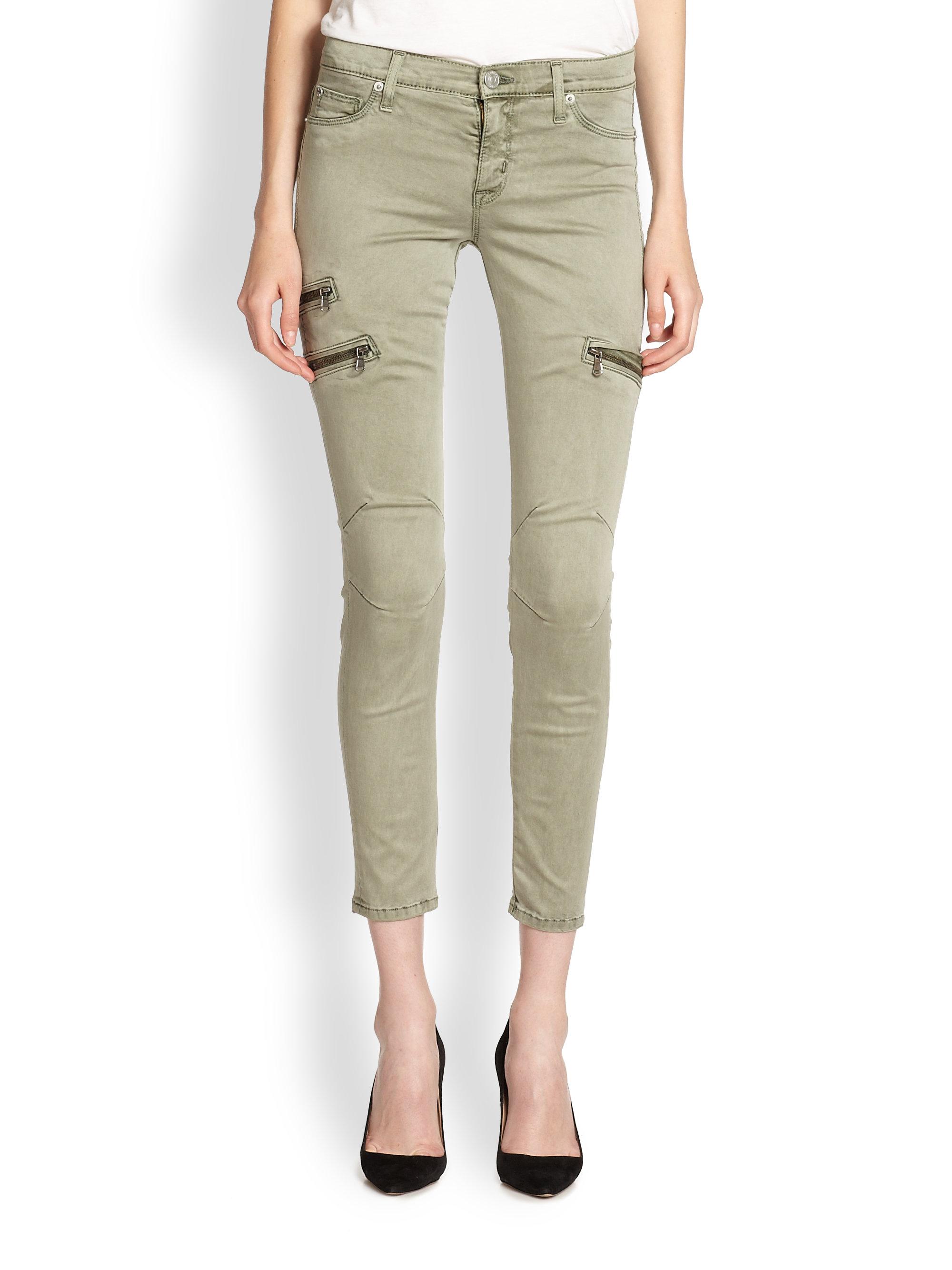 Fantastic Womens Green Skinny Cargo Pants  Pi Pants