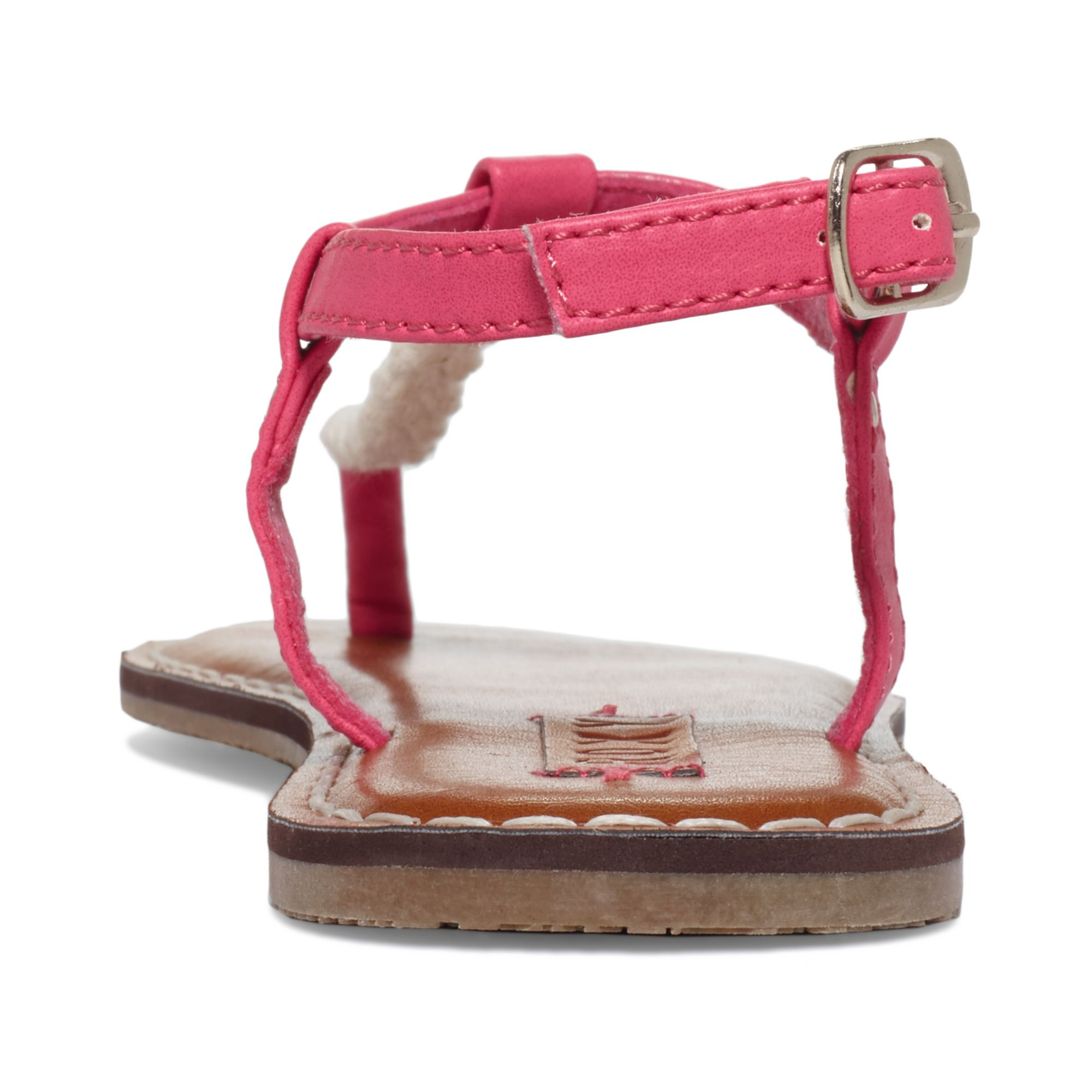 1966eed14220 Lyst - Roxy Sparrow Tstrap Flat Thong Sandals in Pink