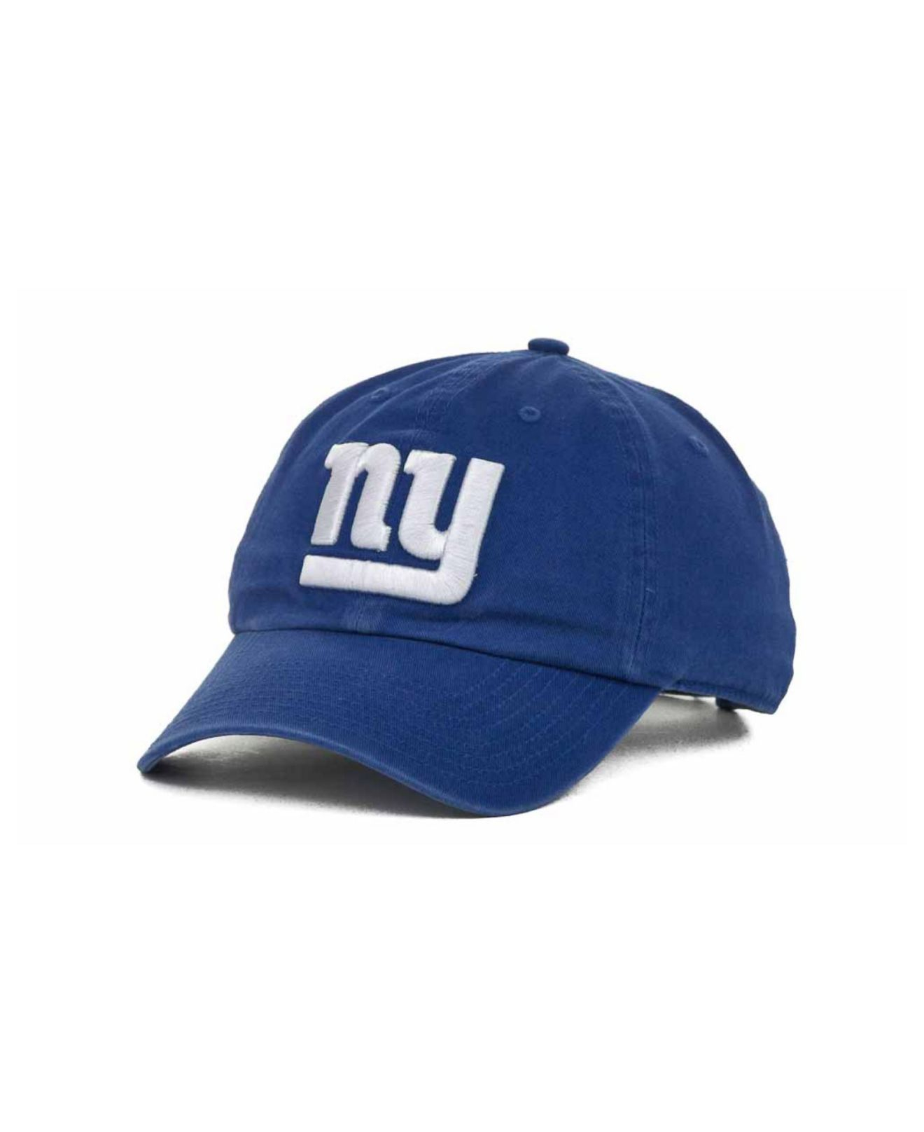 47 brand new york giants clean up cap in blue for men lyst. Black Bedroom Furniture Sets. Home Design Ideas