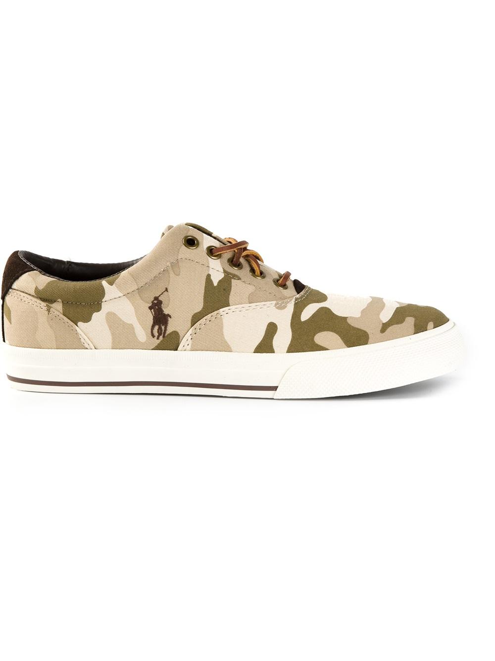 Polo Ralph Lauren Camouflage Sneakers