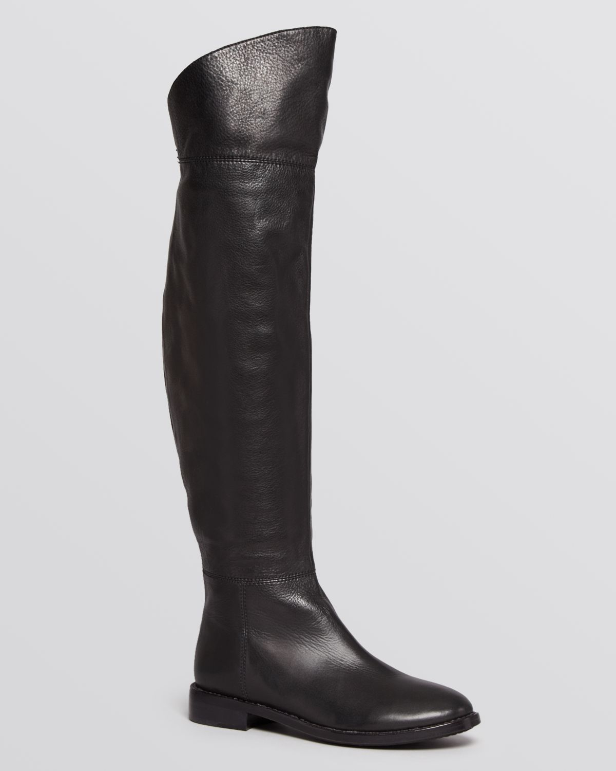 joie flat the knee boots bailey in black lyst