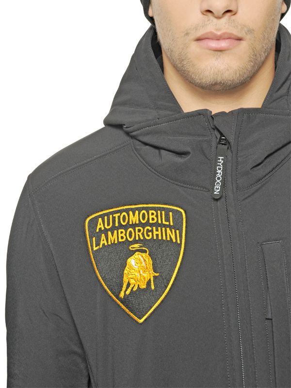 Lyst Hydrogen Ltd Lamborghini Cold Buster Ski Jacket In Black For Men