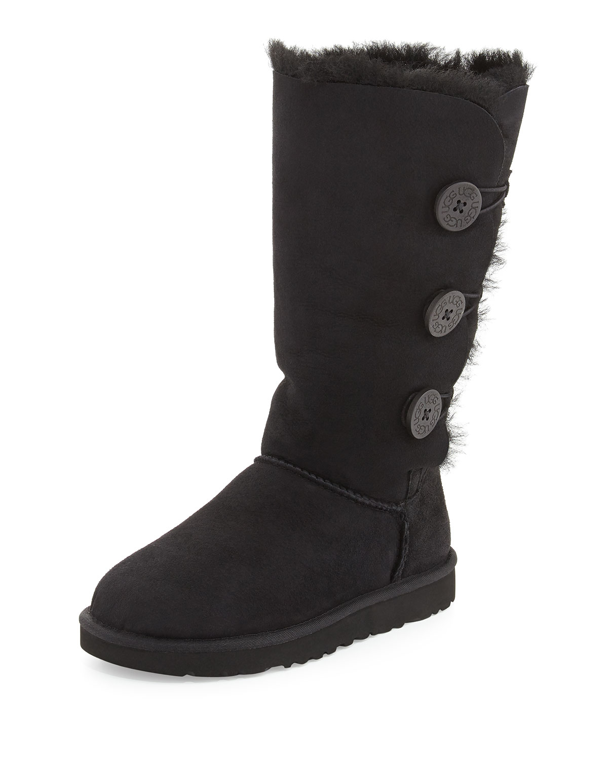 Ugg Bailey Button Tall Boot In Black Lyst