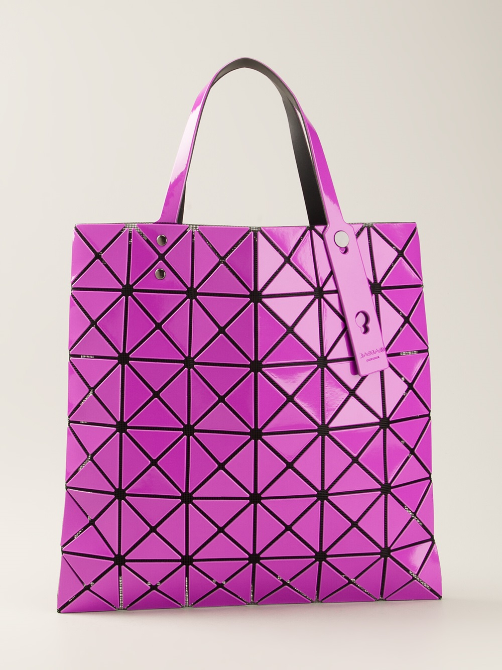 Lyst Bao Bao Issey Miyake Geometric Panel Tote Bag In Pink