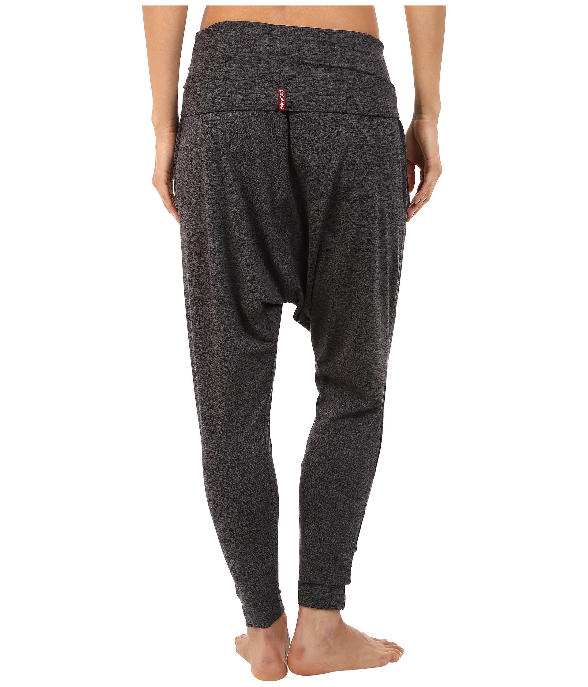 Excellent Details About Women39s Casual Drop Crotch Denim Casual Pants Cotton