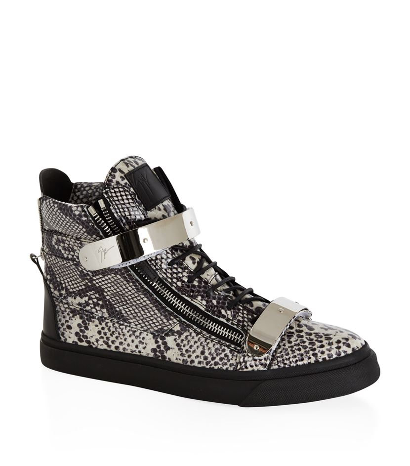 Image result for Giuseppe Zanotti male python sneakers