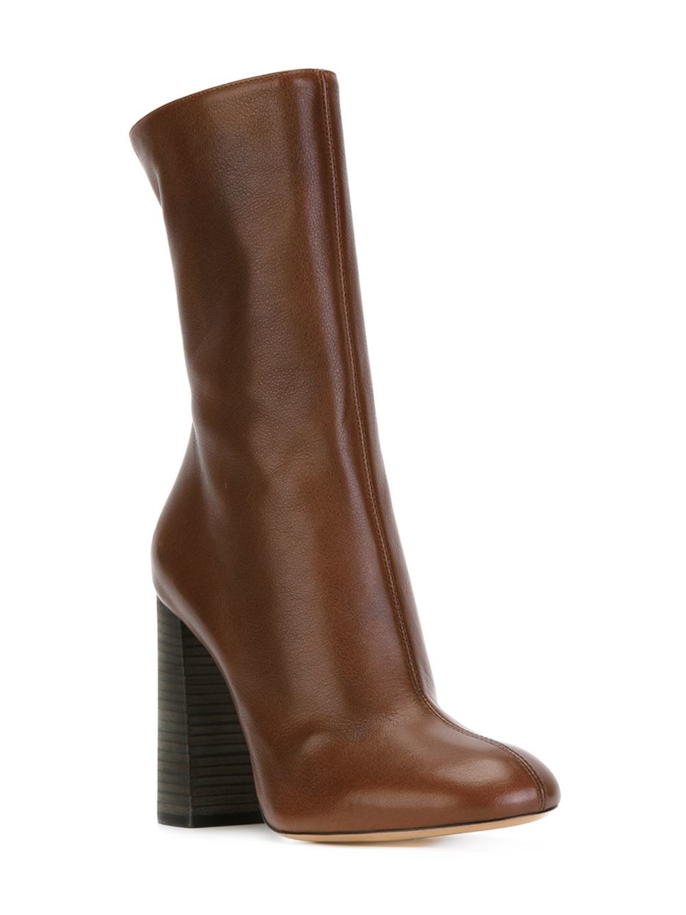 Chloé Leather 'harper' Boots in Brown